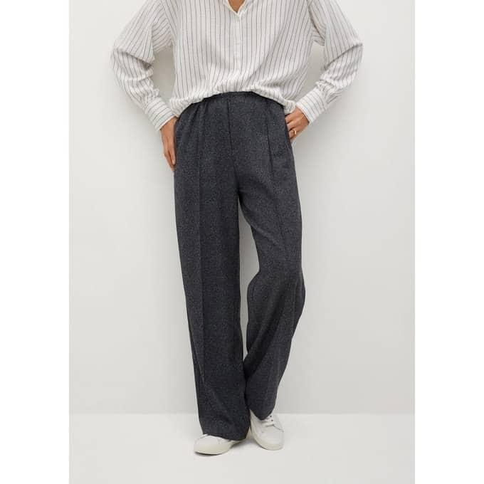 Morphologie V Pantalon Pinces Femme