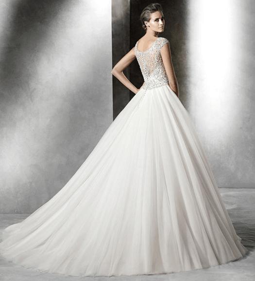 Robe de mariee de bal Pronovias