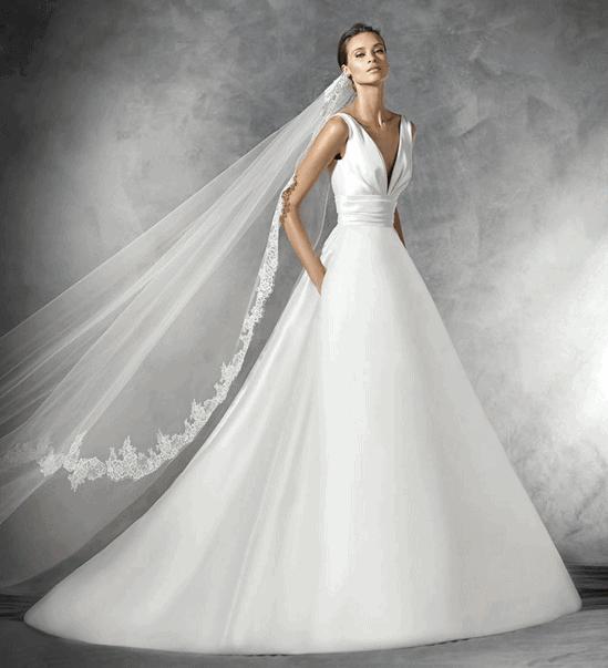 Robe de mariee princesse Pronovias