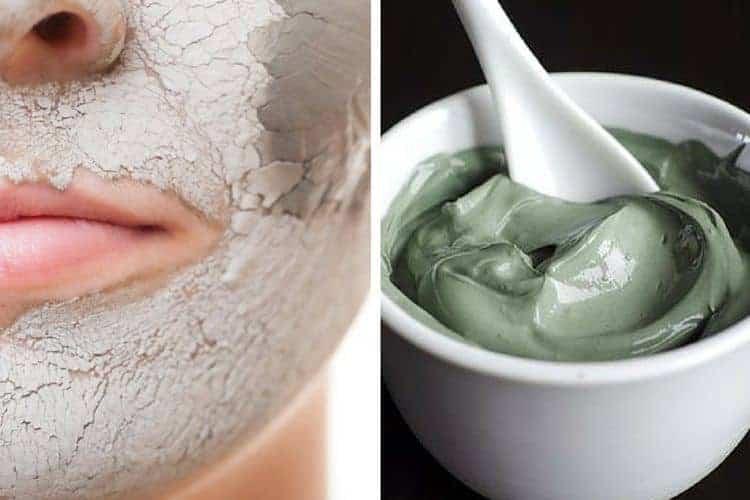 Masque hydratant visage argile verte
