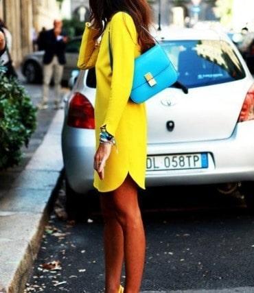 V tements les couleurs qui vont ensemble - Les couleurs qui vont avec le jaune ...