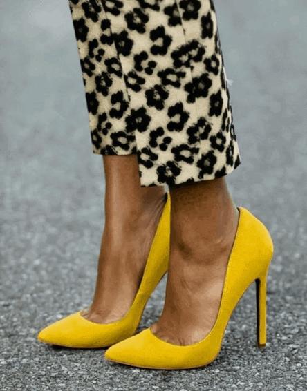 escarpins-jaune