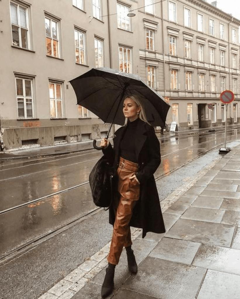 Tenue De Pluie Femme Pantalon Cuir