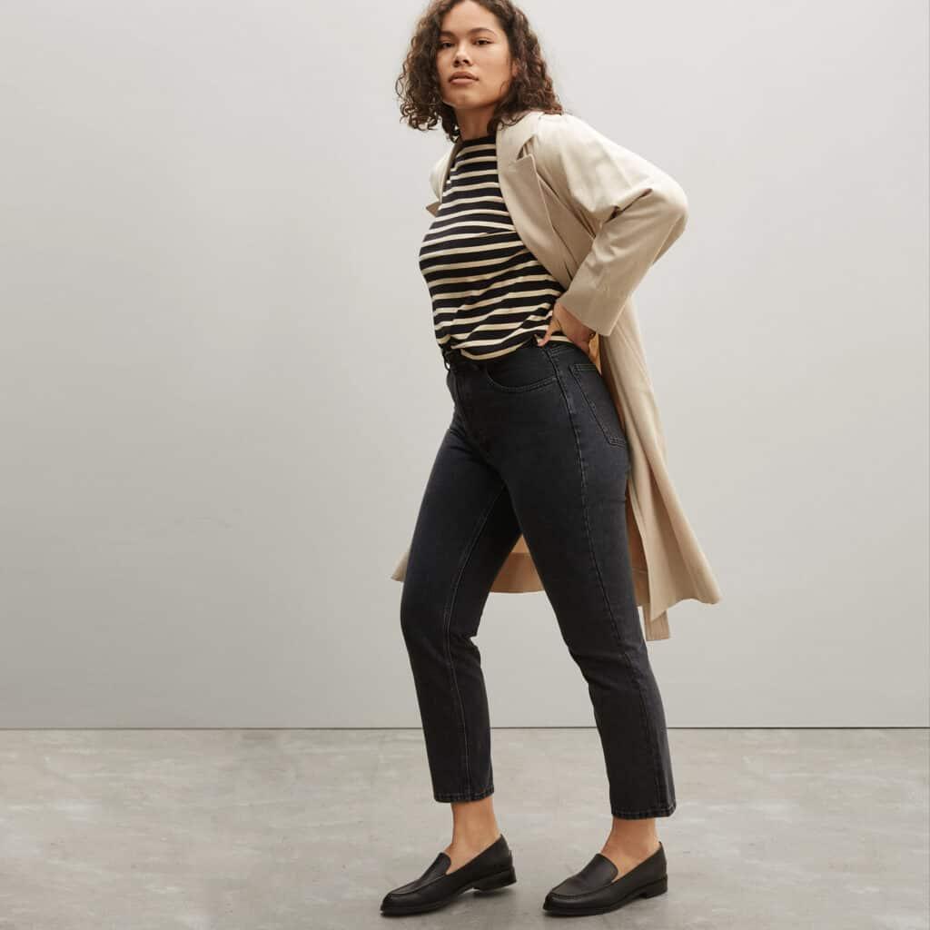 marque ethique grande taille everlane jean