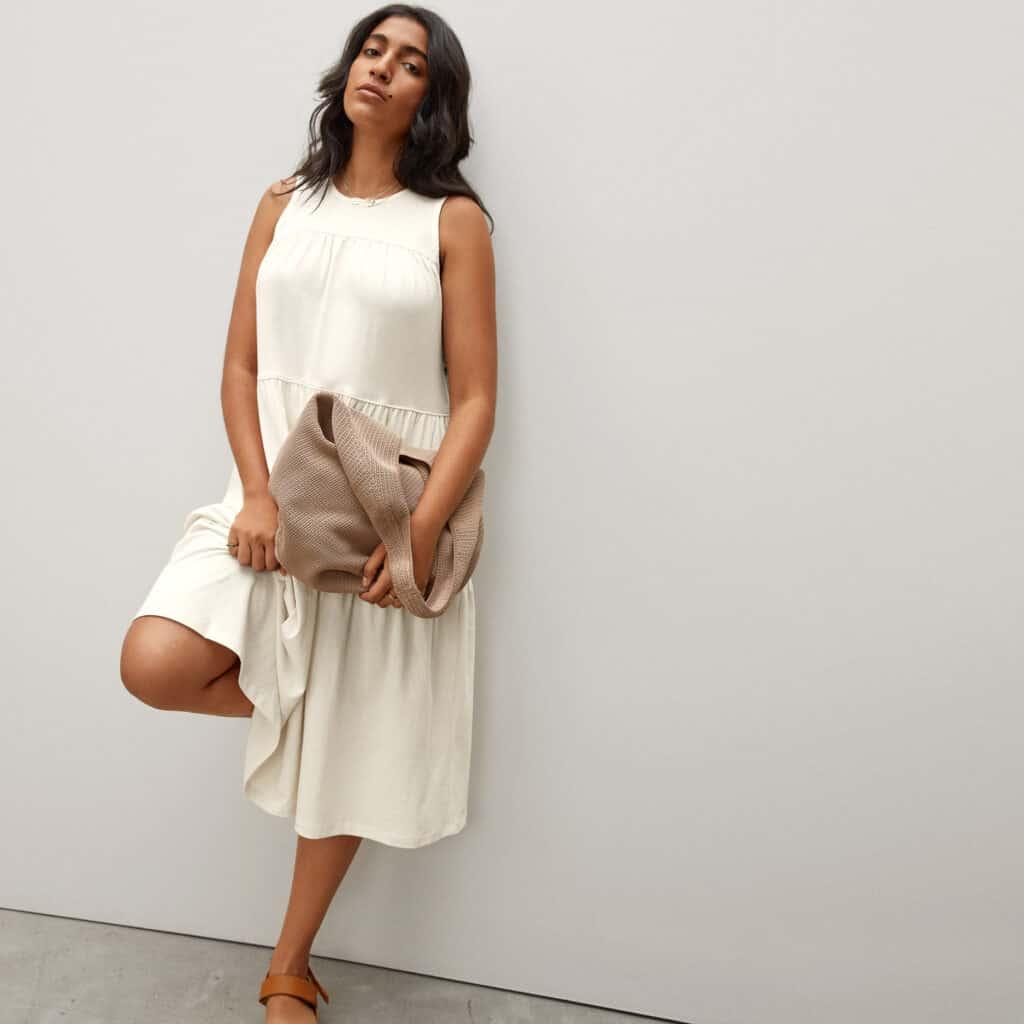 marque ethique grande taille robe everlane