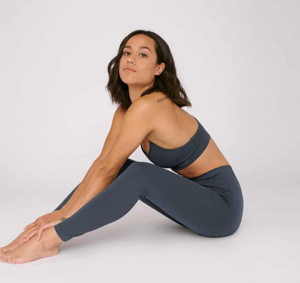 legging ecoresponsable ethique sport yoga organic basics