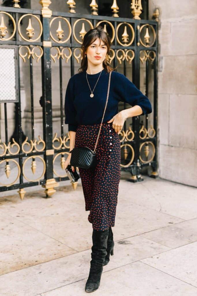 comment porter robe poretfeuille manches longues (1)